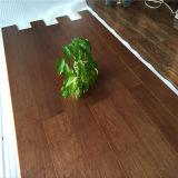 Plancher en bois machiné par noix multicouche de tache de noir de système de T&G