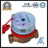 Medidor de água quente de bronze Multi Jet Dry