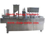 Máquina de enchimento elétrica da cápsula do tipo conduzido e do material de empacotamento plástico