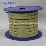 Embalaje del lubricante PTFE/Teflon de la fibra de Aramid del aislamiento de calor (Kevlar)