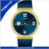 Relógio de pulso impermeável vivo colorido do pulso de disparo da chegada nova para homens e mulheres