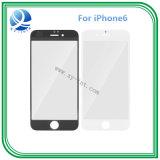 Obiettivo di vetro anteriore del rimontaggio per bianco esterno del nero dello schermo di iPhone6 6g 4.7inch