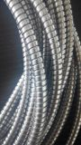 De bloqueo doble conducto metálico flexible
