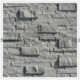 Azulejo de mármol partido del gris chino para la decoración de la pared