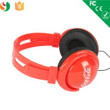 Наушники с кокосами Cola Logo для Promotioanl Gift Headphone