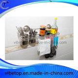 Портативной шкаф специи металла кухни установленный стеной