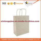A buon mercato riciclare il sacchetto durevole della carta kraft Di torsione per i vestiti