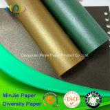 230 coloridos Gms brillaron cartulina de papel de empaquetado decorativa