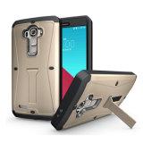 Caja del teléfono del defensor de la armadura de la alta calidad para LG G4
