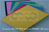 Plaque en plastique intense de la résistance aux chocs pp pour l'équipement industriel