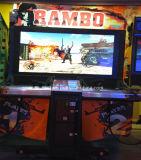 Máquina de juego electrónica del arma del Shooting de la arcada de Rambo de la venta caliente