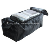 Travel Sport Storage Shoes Bag de Male preto com Compartment