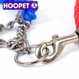 Hoopet doppelter Farben-Haustier-Kragen-einziehbare Hundeleine-Zubehör