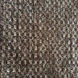 Tela árabe do sofá do jacquard do Chenille da cor do contraste do estilo