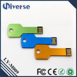 승진 금속 키 모양 USB 섬광 드라이브 기억 장치 지팡이