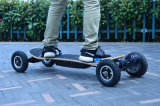 4 rodas off-Road que derivam o skate elétrico da placa 1650X2w