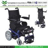 力は横たわり、車椅子を傾ける