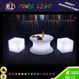 Geleuchteter LED Würfel-Stuhl des LED-Würfel-Möbel