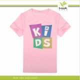 V Neck Printing T Shirts (ky-t016009) de Customzied Polyester Women