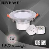 7W 3.5 la pulgada LED Downlight abajo se enciende con la lámpara del techo de Ce&RoHS