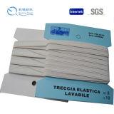 La alta calidad de la venta y el hilado calientes del artículo modificaron la venda de elástico para requisitos particulares hecha punto