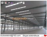 Struttura d'acciaio di costruzione di prezzi del magazzino poco costoso dell'ampia luce