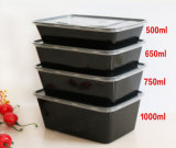 Tre contenitore di alimento rettangolare di /Take Awy/Fast di microonda degli scompartimenti