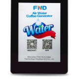 Dispositivo elétrico da máquina atmosférica do café da água