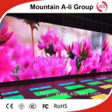 Affichage visuel polychrome d'intérieur de la qualité P3.91 LED
