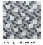 Mosaico de la Piedra de la Naturaleza del Material de Construcción para el Azulejo de Suelo (FYSSC195)