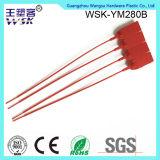 De Guangzhou do selo da fábrica fechamento plástico plástico dos PP da cor vermelha de venda diretamente com impressão