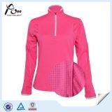 네온 분홍색 색깔 공백 여자 스웨터 도매 적당 셔츠