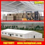 Écran industriel de tente d'atelier d'entrepôt de mémoire de grande grande de bâti envergure claire modulaire en aluminium permanente de PVC