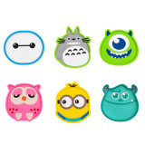 High Temperature Stand Promotionnel Cute Cartoon Pattern Silicone Cup Mat
