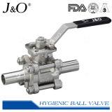 Válvula de bola de acero inoxidable sanitario Fabricante