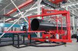 HDPE пускает машина/труба по трубам сплавливания сварочного аппарата/трубы соединяя трубы машины/сварки в стык Machine/HDPE соединяя машину