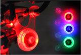 Mini sicurezza che avverte l'indicatore luminoso della coda della parte anteriore della bici dell'indicatore luminoso della sede posteriore della lampada della bicicletta del LED