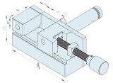 Manueller EDM Elektroden-Halter für die Drehbank-maschinelle Bearbeitung