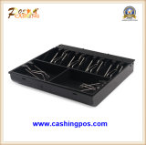 Qe-300 Metal POS Cash Drawer para Shopping Center 3bills 4coins