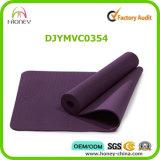 Stuoia normale di yoga del TPE di colore per uso quotidiano entrambi i lati