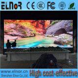 Pantalla de visualización a todo color de LED P10 de la consumición de las energías bajas