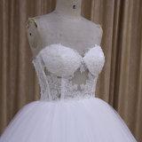 セクシーなビーズの恋人の夜会服のウェディングドレス2016年