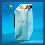 Золотистое затавренное высокое качество розничным бумажным мешком (DM-GPBB-044)