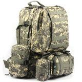 A qualidade 50L Backpacks mochilas militares ao ar livre táticas do assalto de Molle