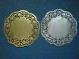 Ovales Doyley-Spitze-Papierdoilies-Kuchen-Papier