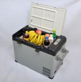 Миниый холодильник 42liter DC12/24V компрессора DC с переходникой AC (100-240V) для автомобиля, яхты, офиса, пользы дома