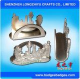 Владельца карточки названия фирмы названного владельца карточки 3D металла Сингапур
