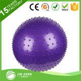 El PVC Anti-Repartió la bola del masaje de la bola del ejercicio de la yoga de la bola del balance
