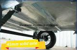 Acoplado utilitario completamente soldado de calidad superior de un rectángulo más fuerte adentro galvanizado con inclinar