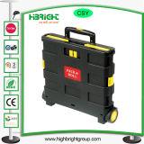 коробки вагонетки складной пользы покупкы завальцовки 35kgs пластичные
